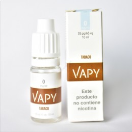 Vapy Tabaco 10ml 0mg